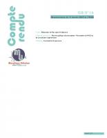 CR N°16-Réunion Publique – Débat