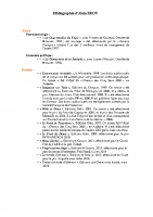 Bibliographie Alain BRON 17